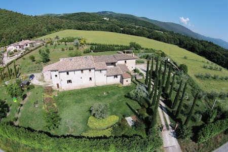 Ancient farmhouse in Umbria - Blue - Massa Martana - Apartment