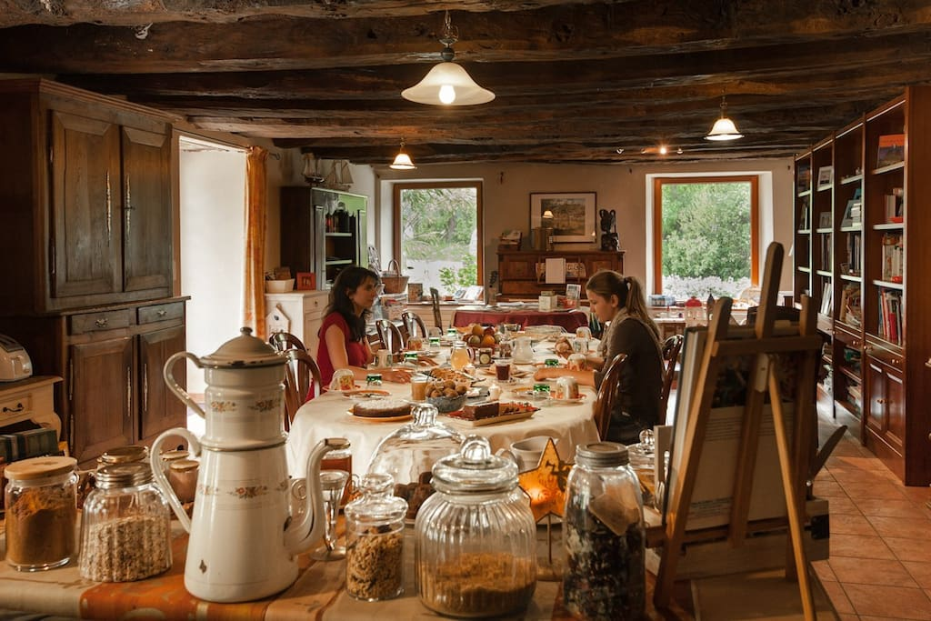 Séjour dans une vraie longère bretonne