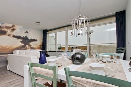 apartment by the sea parking incl.  - Noordwijk - Huoneisto