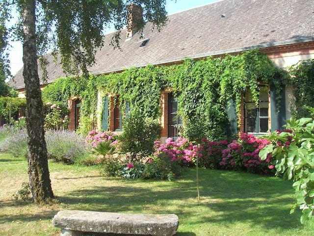 Maison de campagne : pêche / tennis - Beaumont-Pied-de-Bœuf - Bed & Breakfast