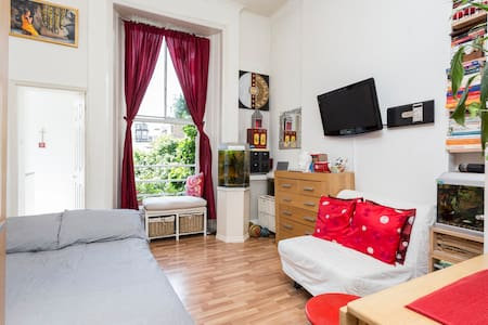 Well looked after studio flat in W2 - London