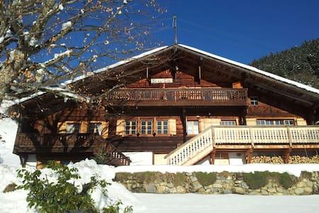 Vaudoise Alpes spacious Chalet - Ormont-Dessous