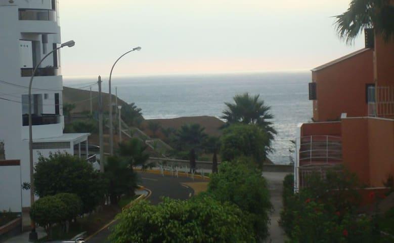 Departamento cerca al mar / Cozy condo oceanview - Santa María del Mar - Byt