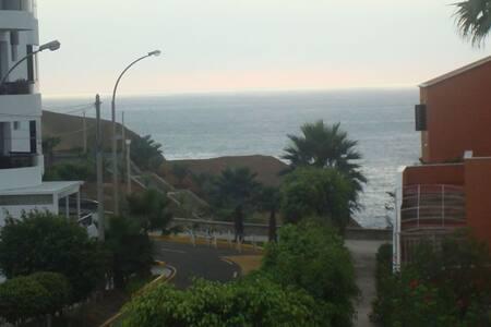 Departamento cerca al mar / Cozy condo oceanview - Santa María del Mar - 公寓