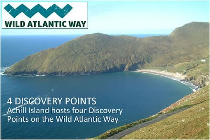 Wild Atlantic Way Achill Island Mulhollow B&B