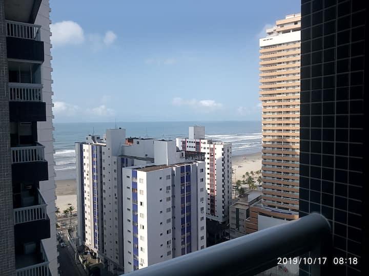 Flat unita ,piscina ,churrasqueira,vista mar