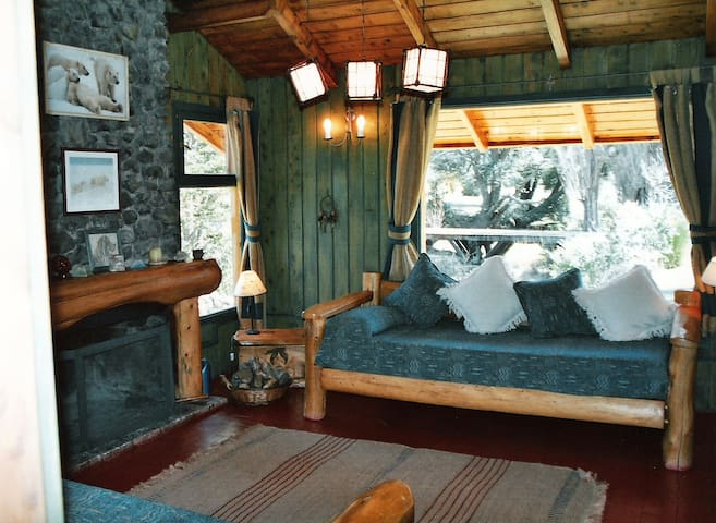 Cozy cabin 100m from the lake - San Carlos de Bariloche