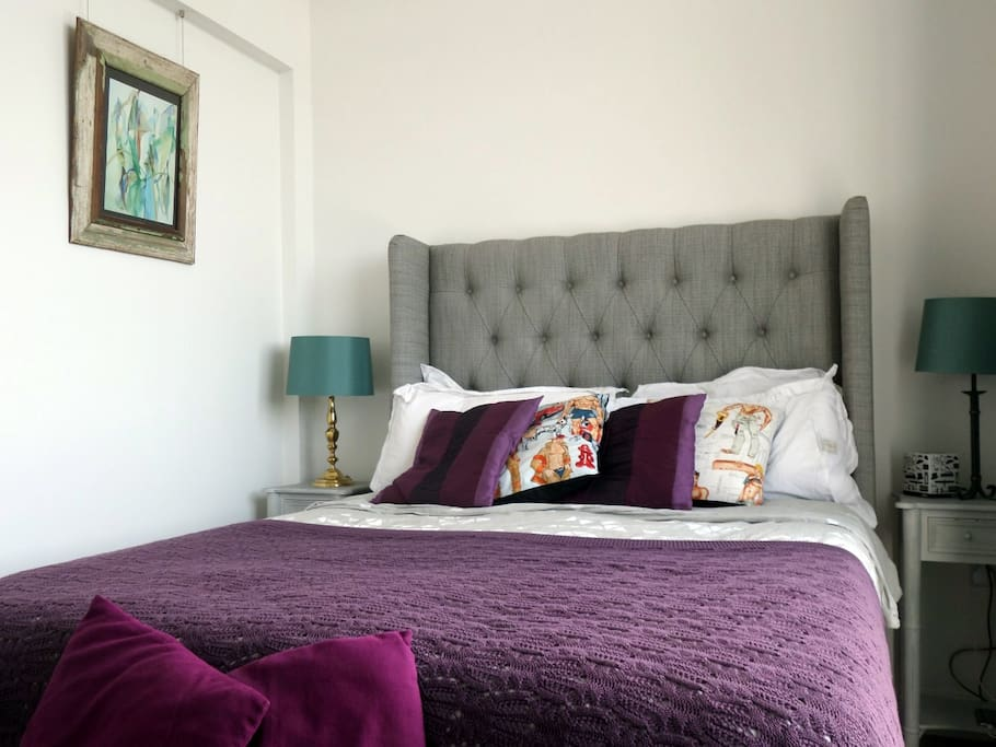 The wingback bed