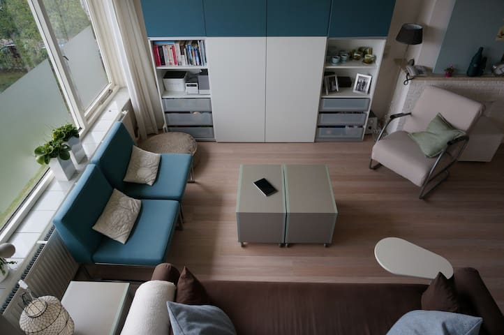 Light & cozy appartment in 't Gooi - Bussum - Wohnung