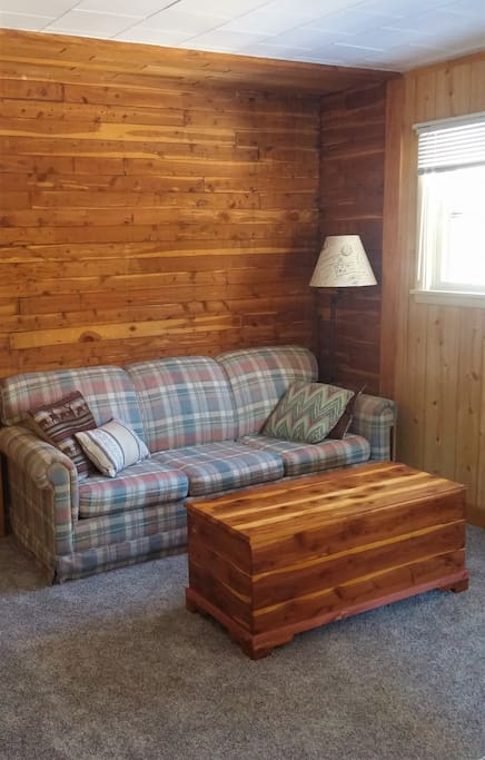 Reading cubby located in the Master bedroom with sofa sleeper, especially great for newer families with small children.