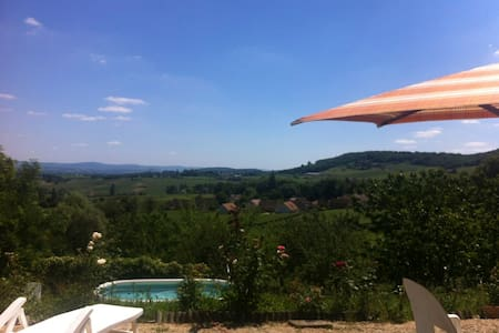 Piece of Heaven in the Vineyards - Montagny-lès-Buxy - บ้าน