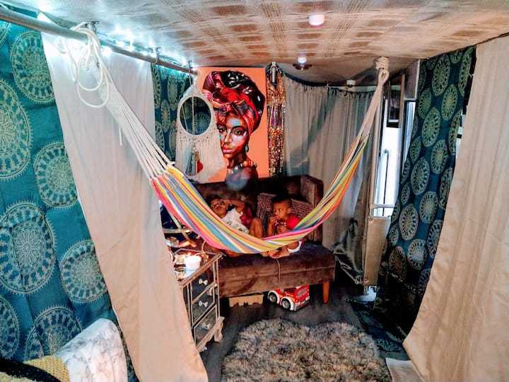 """""""The Gypsy Queen"""" Tiny Home Conversion"""