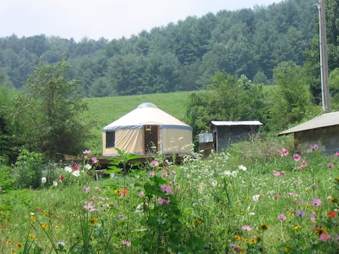 Charming Yurt on Country Farm