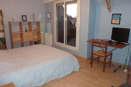 chambre privée ds maison  - cesson-sévigné - Haus