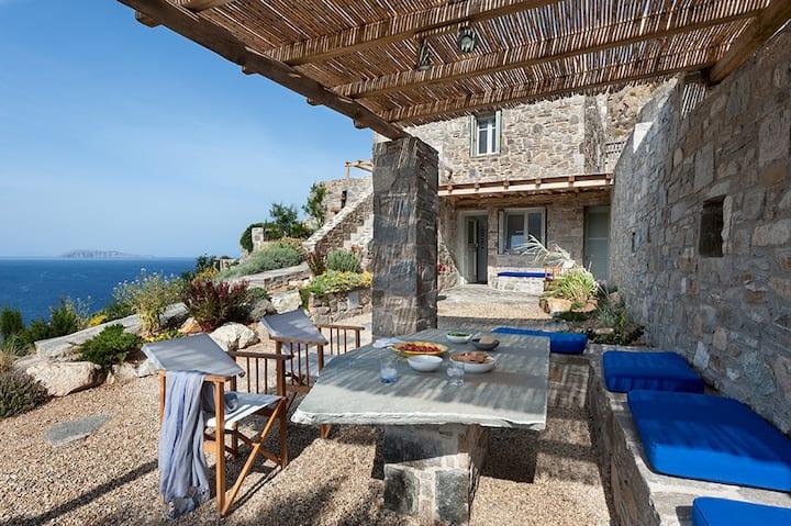 ASPES SERIFOS by Psili Ammos Beach.5 amazing views