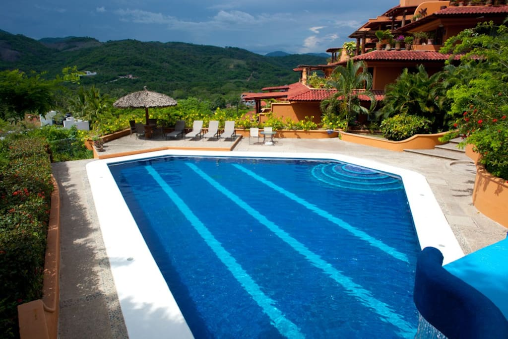 Take a splash at our pool