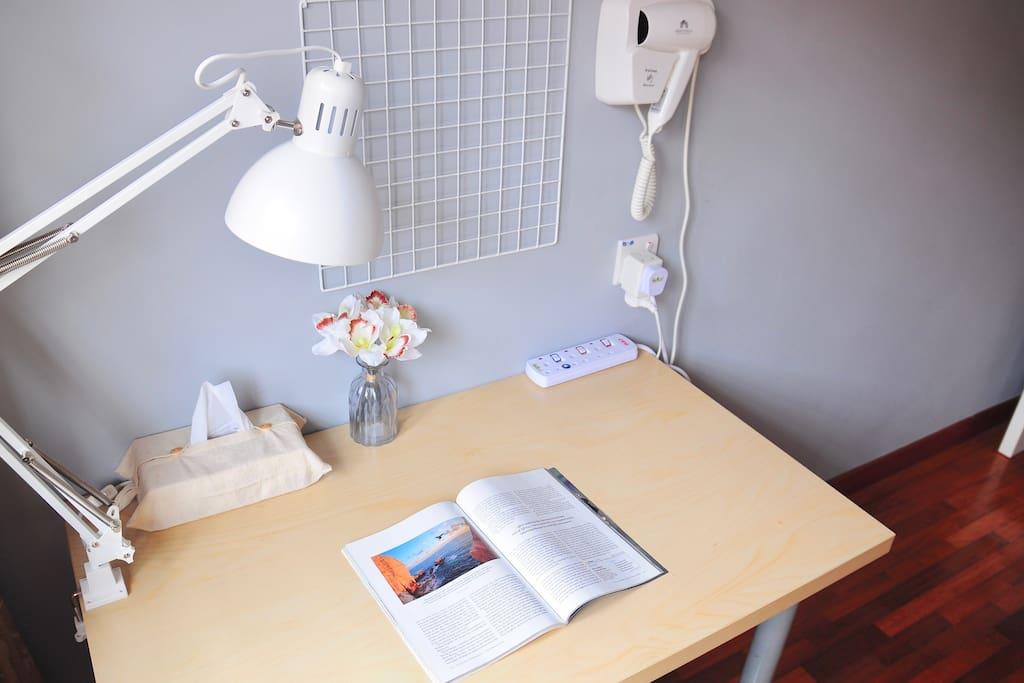 Work Desk By The Window
