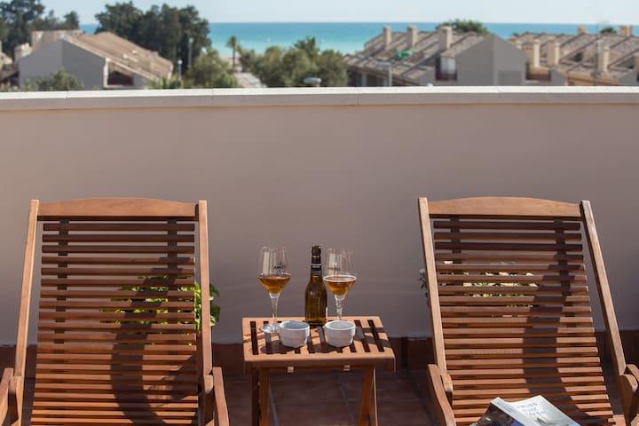 Precioso ático mediterráneo  - Sagunt - Apartament