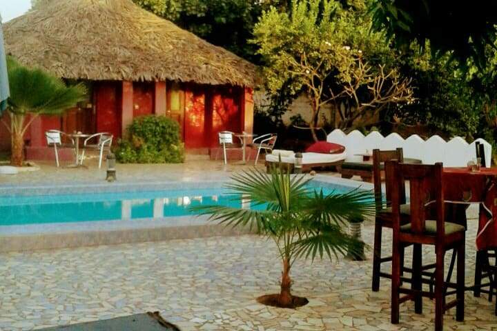 2.The Plantation Gambia Boutique Hotel (2 guests)
