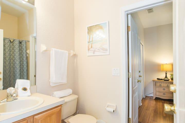 The Queen suite´s bathroom, First floor - La reina suite's baño, primera planta