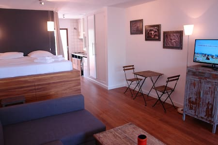 Modern and cozy studio ibiza - 滨河圣埃乌拉利亚 - 公寓
