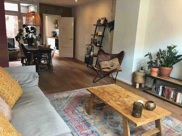 Super nice apartment with garden in city centre