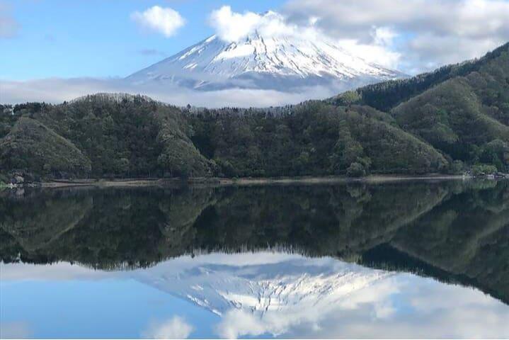 富士の眺望!昭和の香り!BBQハウス!和風の庭!  公園の中?