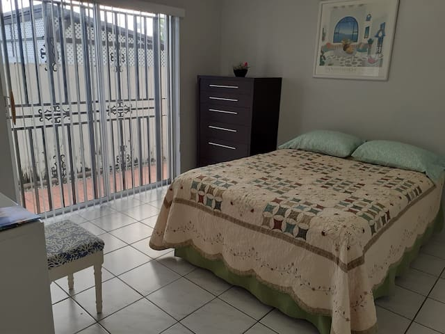 2 + Private Room and entrance & Gated Parking.