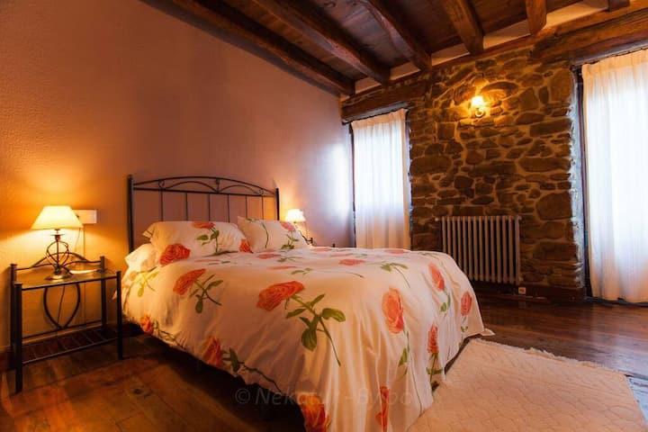 Habitación Doble en Casa Rural Irigoienm (4)