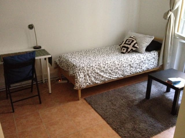 A super quiet Single room in Venice near Bus/Train