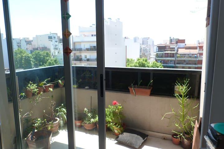 Departamento dos ambientes con balcón en Boedo.