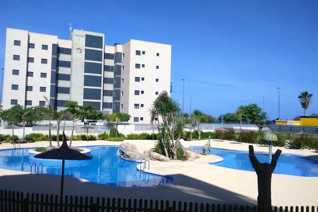 Luii032 mil palmeras seaviews aptos en complejo - Casas para alquilar en las mil palmeras ...
