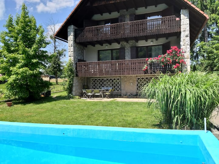 Villa Krka With Pool - riverside near Ljubljana