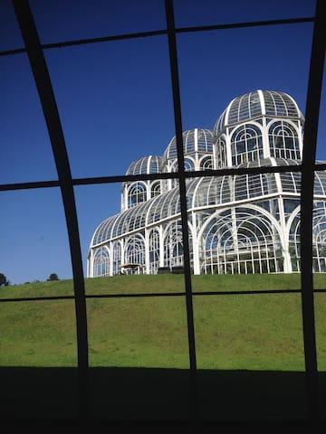 Flat acolhedor no Jardim Botanico - Curitiba - Haus