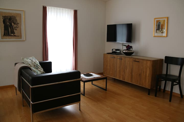 35sqm balcony apartment in the SPA quarter - Baden - Apartment
