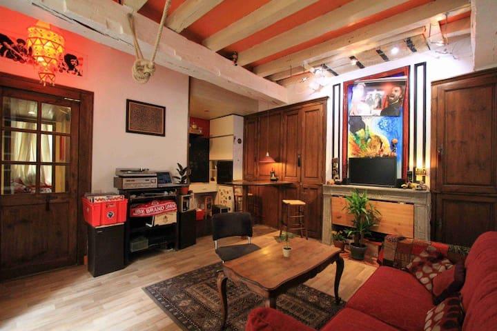 Appartement Vieux Bordeaux - Bordeaux - Leilighet