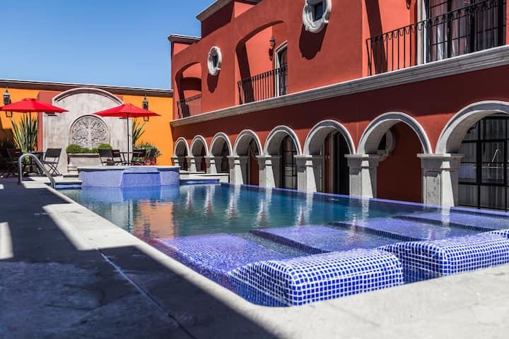 Hatso:Hermosa Villa con Alberca,Jacuzzi Terraza V5