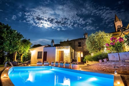 BorgoCuore: house with pool in Todi - Todi - Ev