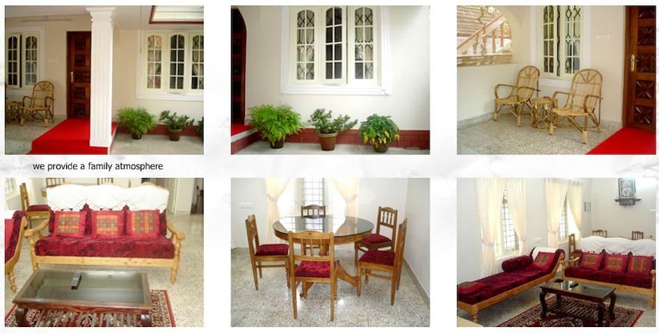 Nathan's Holiday Home 2 bedroom Apt - Kochi - Villa