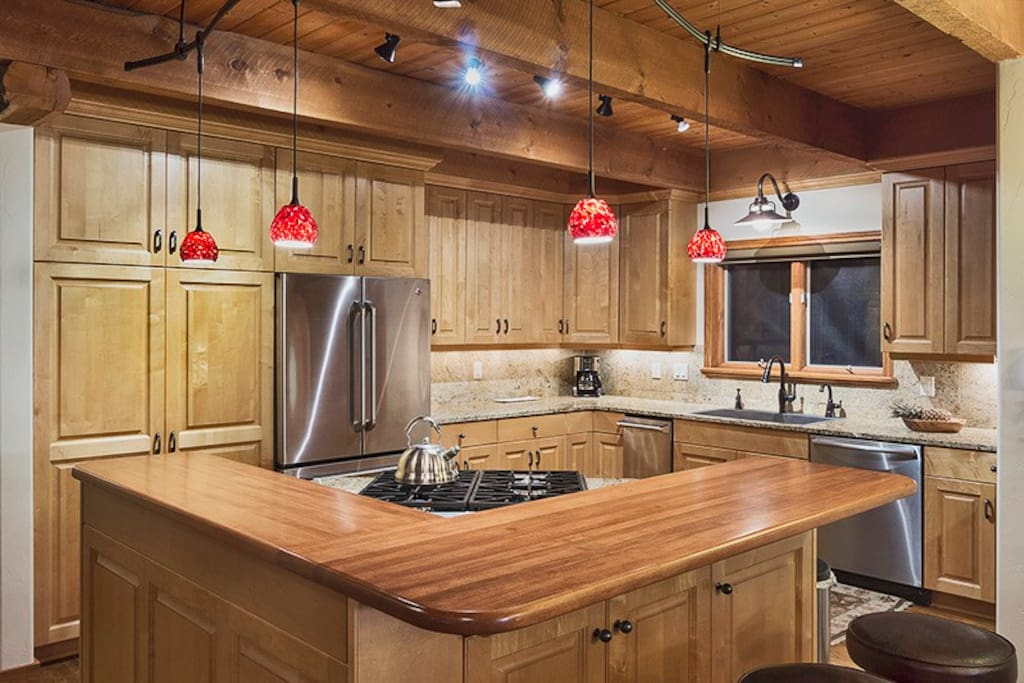 Gourmet kitchen with everything you need to prepare your favorite meals