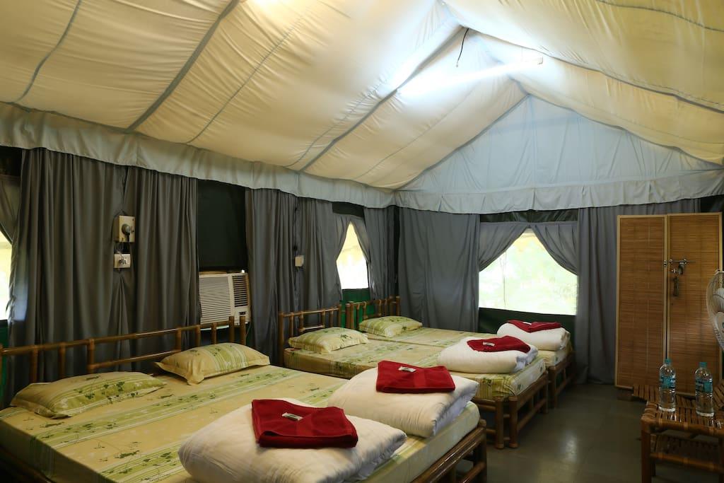 Swiss AC 4 Man Tent
