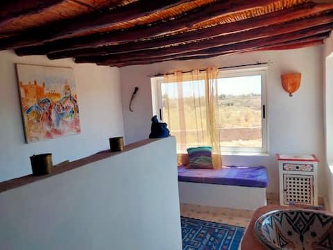 Suite Anir, casa Jouba , vista mare e giardino