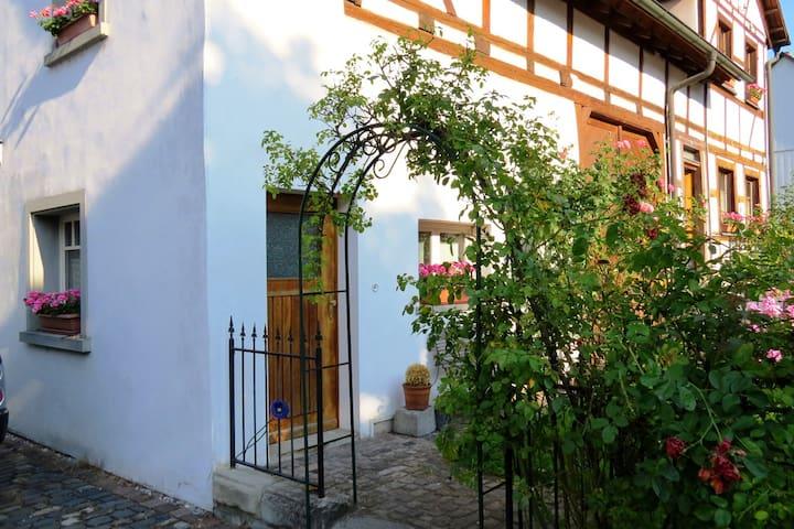 Eigene Wohnung in einem Bauernhaus