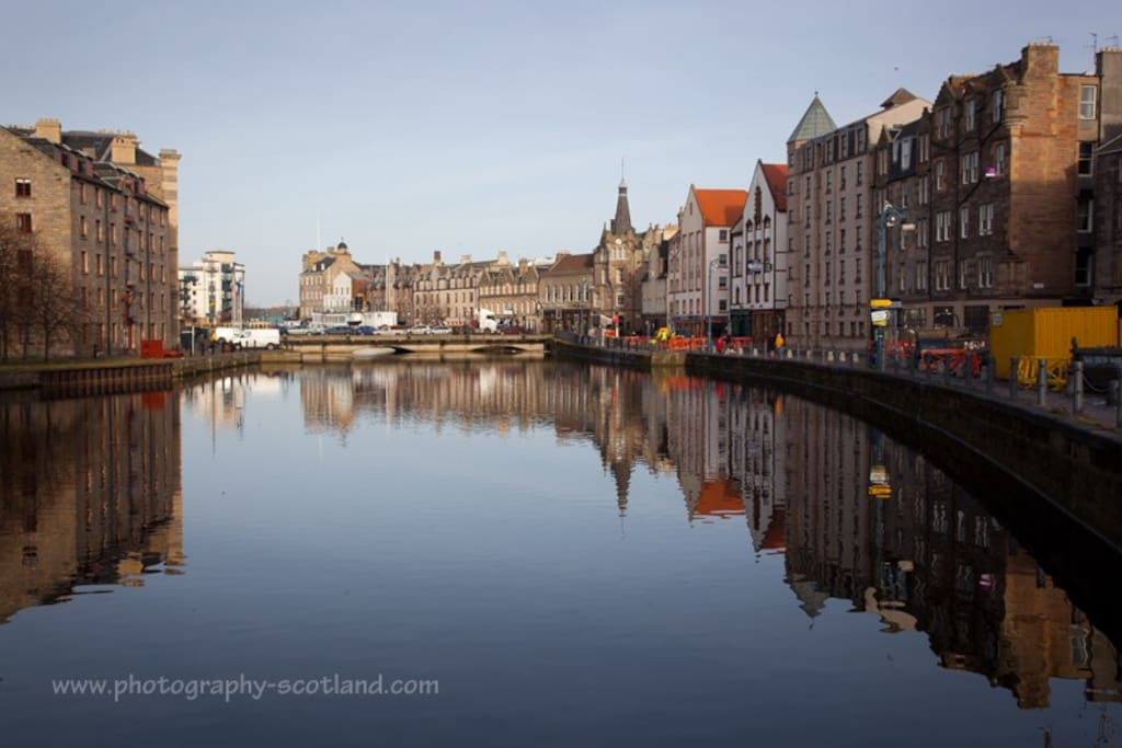 Located just 50metres from the Shore line of Leith.