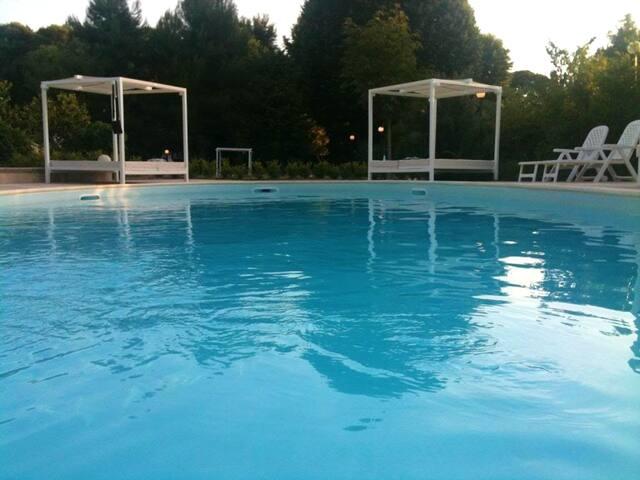 Appartamento con accesso piscina