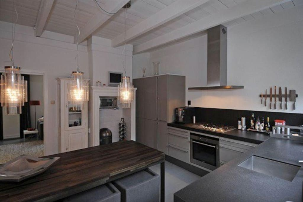 Full Kitchen with all amenities and dining area
