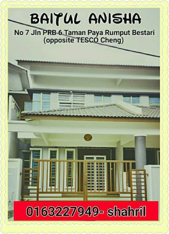 Baitul Anisha Homestay Melaka