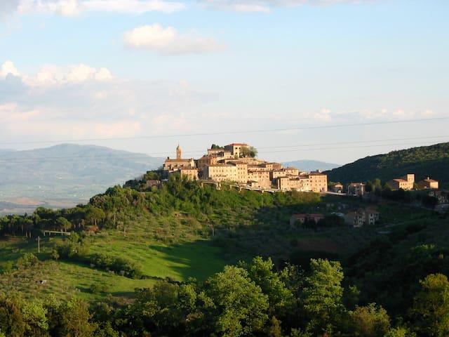 heart of tuscany -mini appartamento - Pari - House