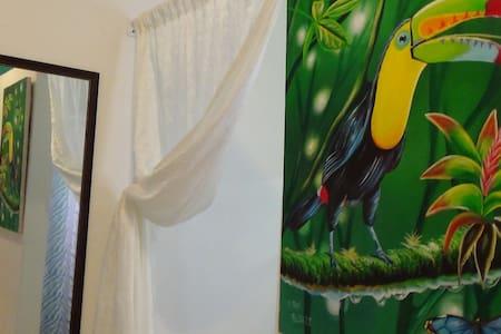 Habitacion 'Selva' para una o dos Personas - Belmopan - Pension