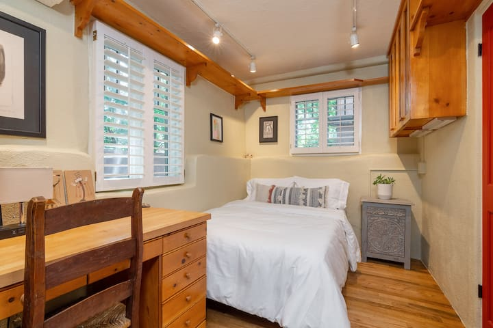 Guest Bedroom with Double bed and attached Bathroom